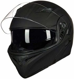 ILM Motorcycle Dual Visor Flip up Modular Full Face Helmet Reviews